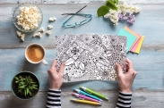 Adult Coloring Books-The Story Behind the Therapeutic Trend