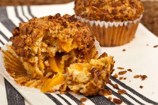 Recipe Perfect Peach Oat Bran Muffins