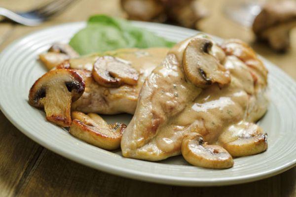 Курица шампиньоны рецепт фото