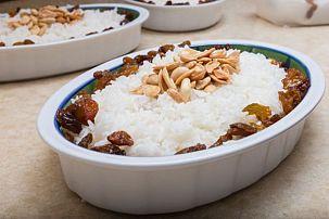 Fruit, Nut and Rice Casserole