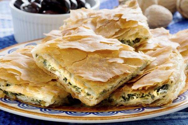 Spinach and Feta Puff Pastry