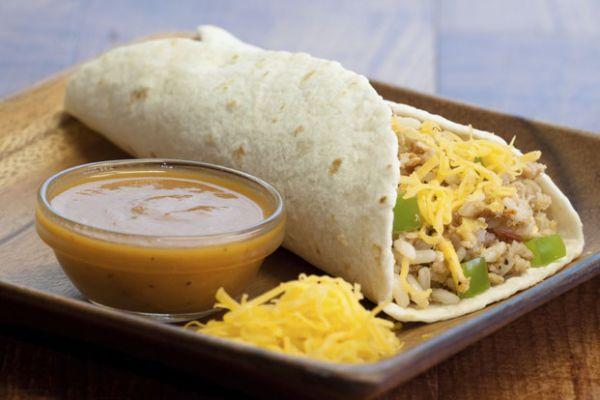 Healthy Chicken and Bean Enchiladas