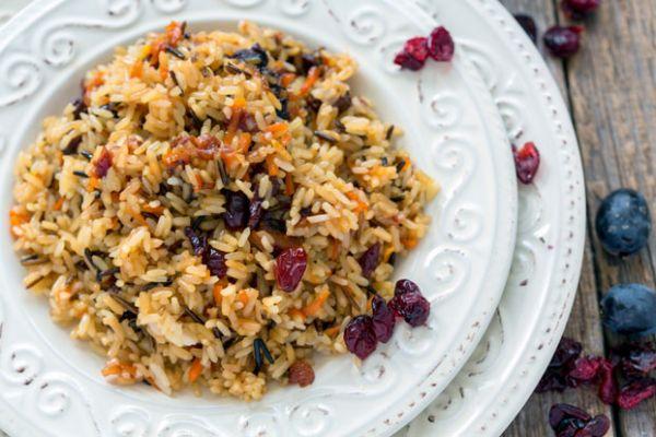 Gluten-Free Wild Rice Cranberry Salad