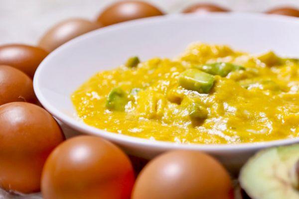 Super Scrambled Avocado and Eggs