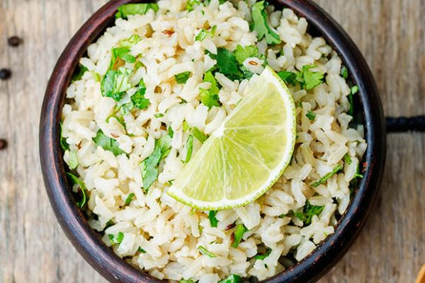 Tangy Lime Rice